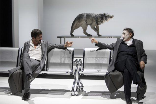 Scene da Faust spettacolo